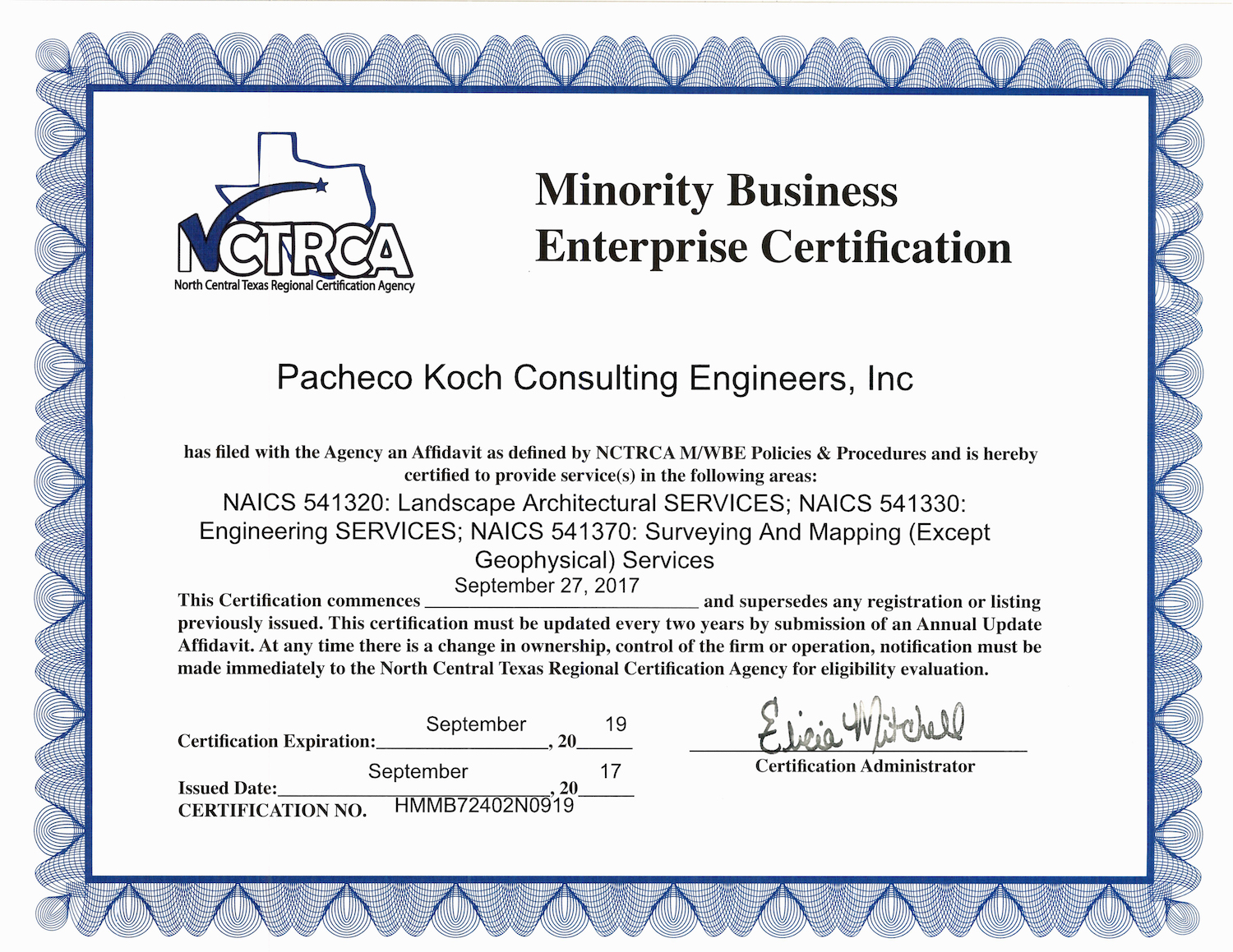 Professional Civil Engineering Registrations And Certifications